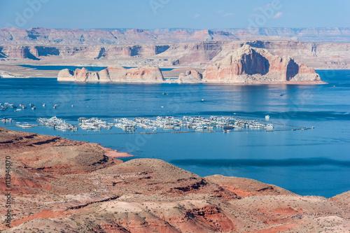 Lake Mead between Nevada and  Arizona Poster
