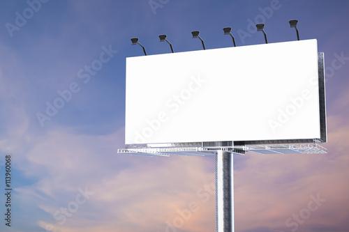 Fotografía  blank billboard