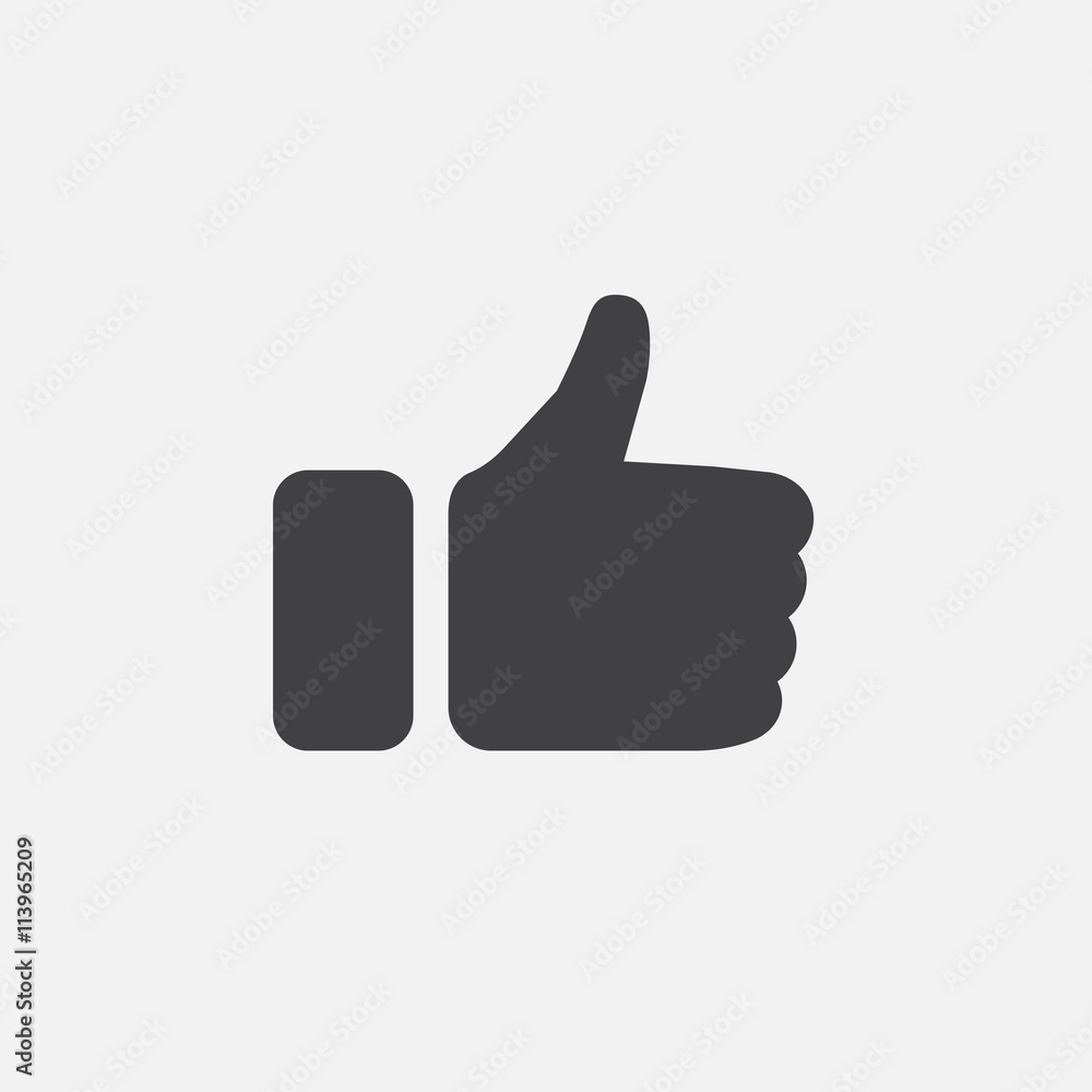 Fototapety, obrazy: thumbs up icon