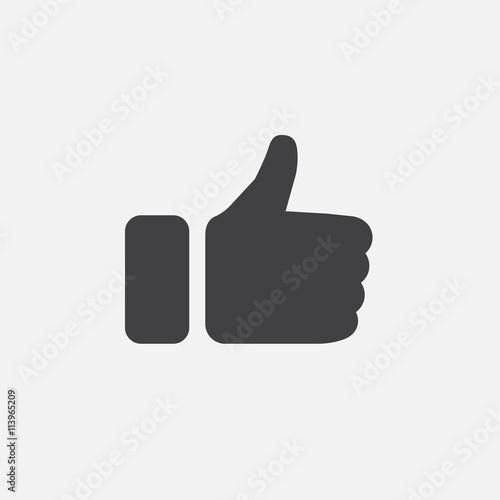 Obraz thumbs up icon - fototapety do salonu