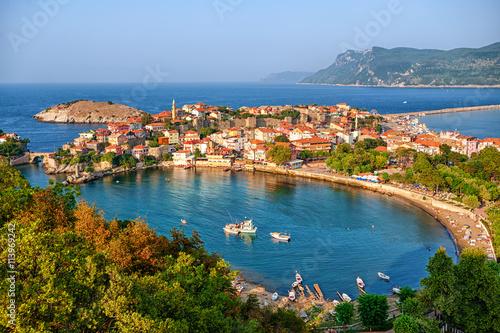 Poster Turquie Amasra town on the Black sea coast, Turkey