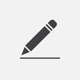 pencil icon, edit sign