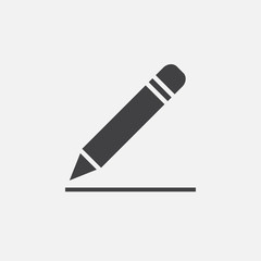 pencil icon, edit sign