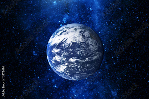 Tuinposter Nasa Planet earth. Elements are furnished by NASA