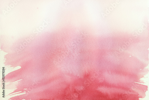 pink ombre watercolor background