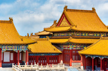 View Of The Forbidden City In ...