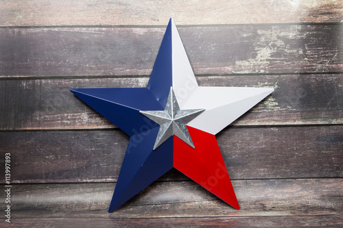 Poster Texas Lone Star