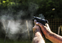 Firing With Gun