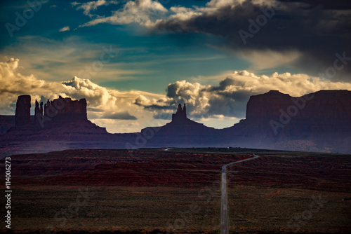 Monument Valley Forrest Gump Point Canvas Print