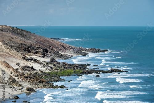 Fotografie, Obraz  Praia de Jericoacoara no estado do Ceará.