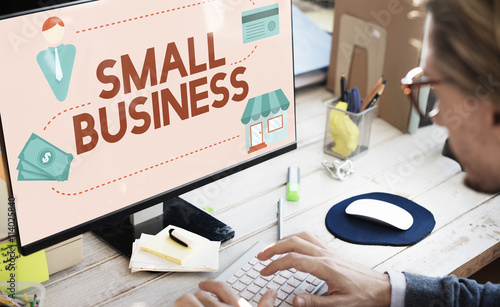 Small Business Niche Market Products Ownership Entrepreneur Conc