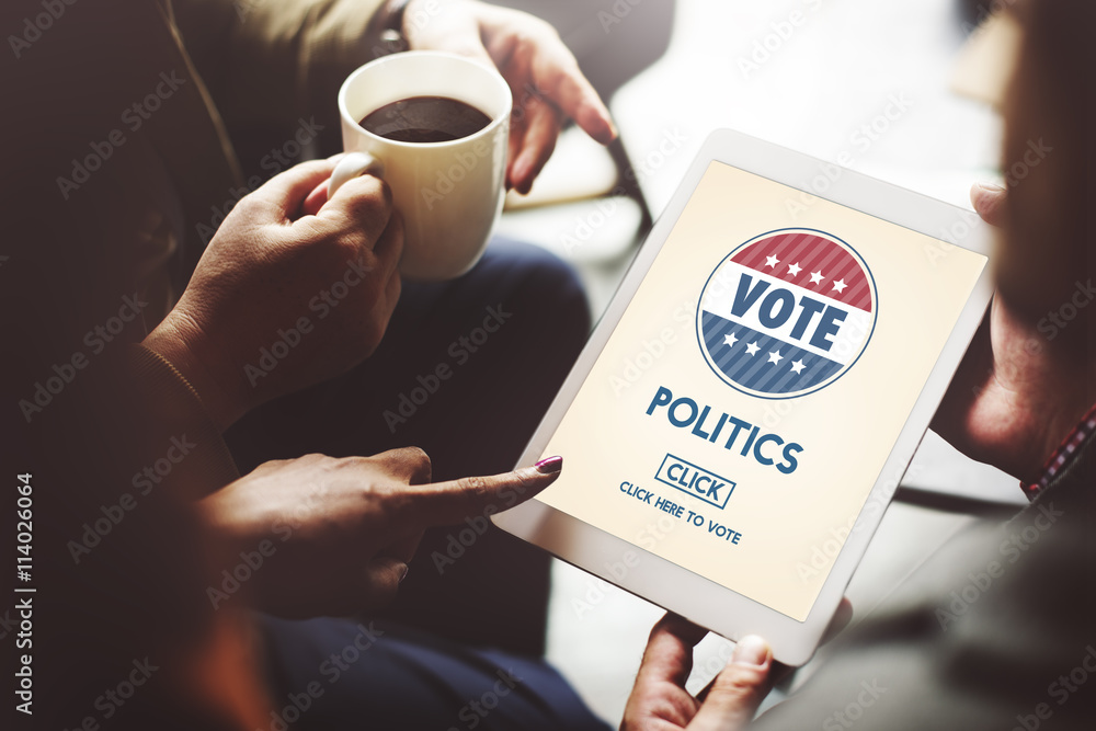 Fototapety, obrazy: Politics Vote Election Government Party Concept