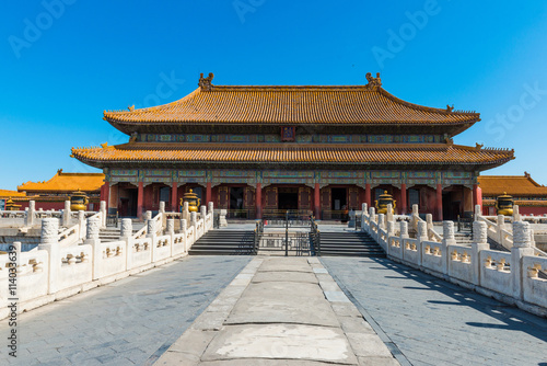Keuken foto achterwand Peking Hall of Supreme Harmony, Forbidden City in Beijing, China