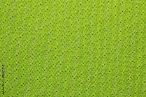 Poster Tissu green sport cloth texture background