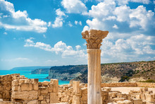 ?uins Of Ancient Kourion. Lima...