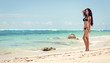 Fit woman in bikini
