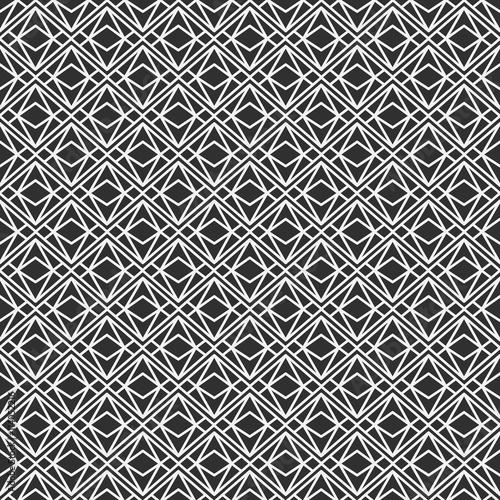wektorowy-nowozytny-bezszwowy-geometria-wzoru-trojbok-czarny-i-bialy-abstrakcjonistyczny-geometryczny-tlo-poduszka-druk-monochromatyczna