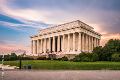 Photographie  The Lincoln Memorial