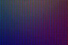 Abstract Led Screen. Closeup R...