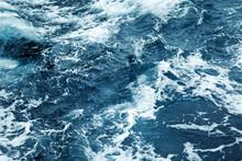 Rippled Ocean Water