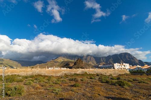 Poster de jardin Parc Naturel Agaete, Gran Canaria, Spanien