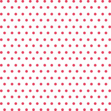 Background Of Red Dots Isolated Icon Design