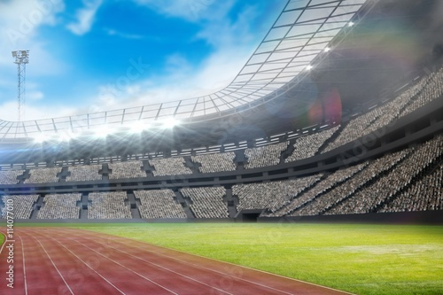 Cadres-photo bureau Stade de football Composite image of a stadium