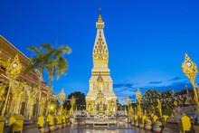 Wat Phrathat Phanom In Nakhon Phanom,Thailand