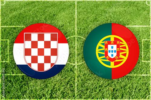 Foto  Croatia vs Portugal