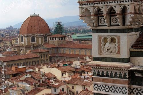 Naklejka premium Florencja pod innym kątem