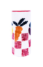 Ceramic Vase With Vegetable An...