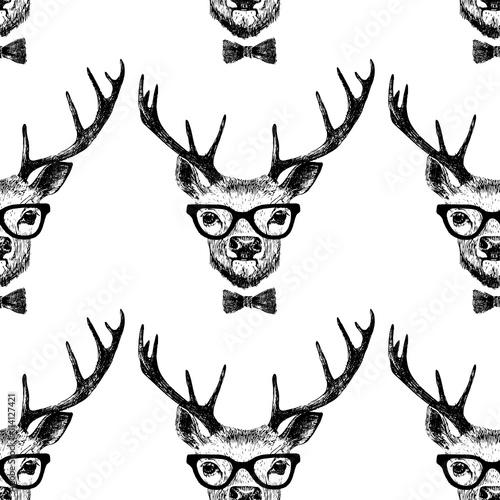 bez-szwu-z-recznie-rysowane-ubrane-jelenia