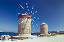 Rhodes Windmills