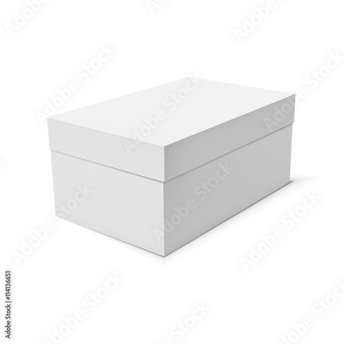 Blank paper or cardboard box template - Buy this stock vector and ...