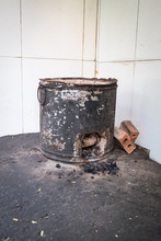 Traditional Coal Stove In Viet...