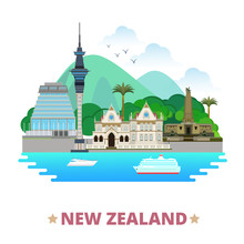 New Zealand Country Design Tem...