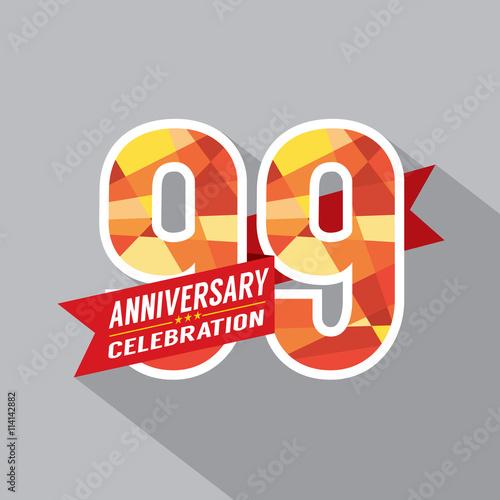 Photographie  99th Years Anniversary Celebration Design.