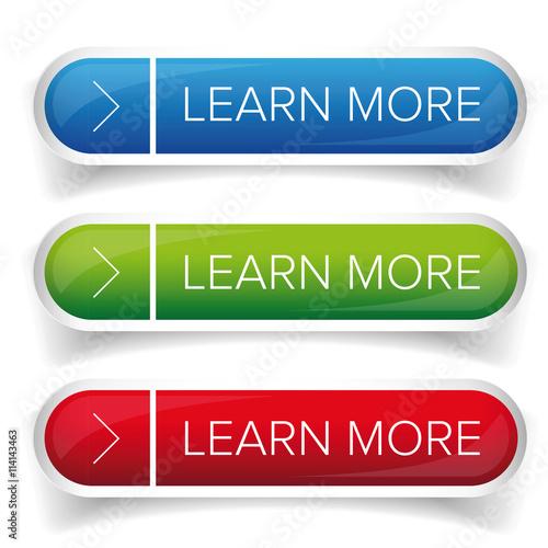 Fotografía  Learn More button set