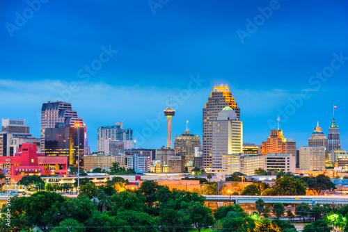 Photo San Antonio Texas Skyline