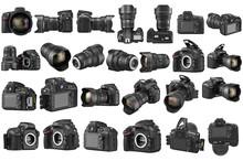 Set Digital DSLR Camera Profes...