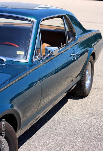 Fotobehang Vintage cars Retro Sportwagen