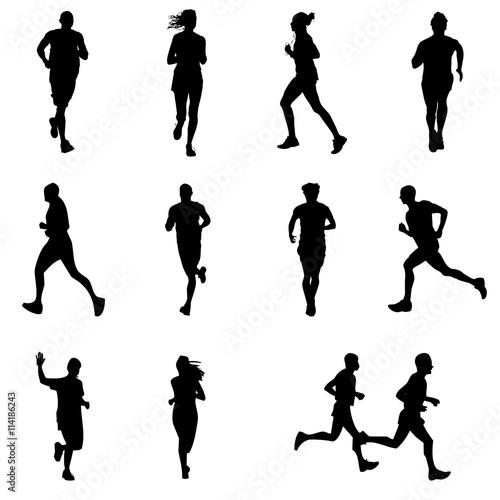 Fotografía  runners