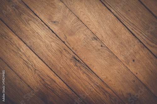 Fototapeta photo of dark brown wooden background texture obraz na płótnie