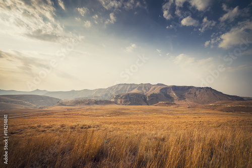 Staande foto Afrika Golden Gate Highlands National Park, South Africa