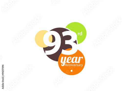 Fotografie, Obraz  Anniversary Logo