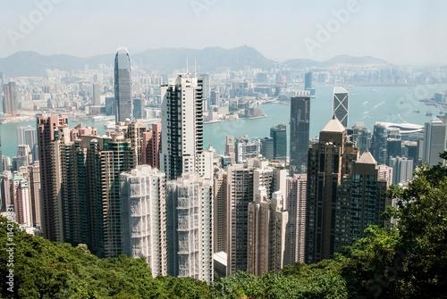 Papiers peints Hong-Kong View from Victoria Peak, Hong Kong
