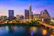canvas print picture - Austin Texas Skyline