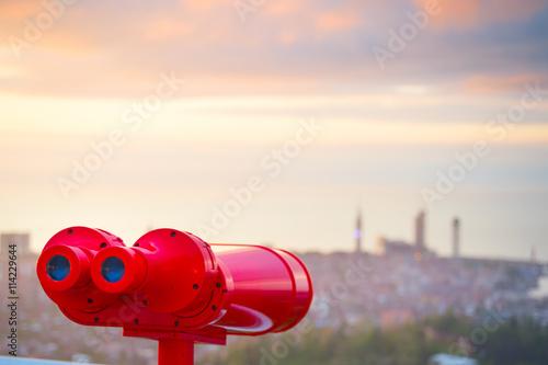 Fotografía  Red binocular