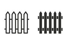 Fence - Vector Icon.