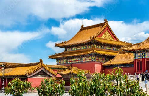 View of the Forbidden City in Beijing